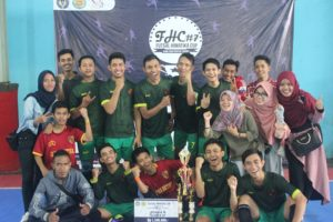Tim PMAT Juara 2 Futsal Putra Se-Jawa (AR)
